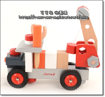 法國Janod 拆裝吊車-1
