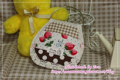 圈圈KEY包~草莓咖啡