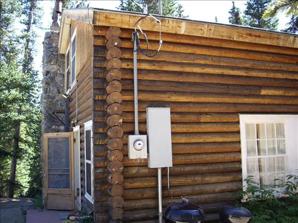 過夜的小木屋