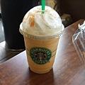 Starbucks 橘子奶油星冰樂