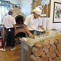 窯烤 pizza