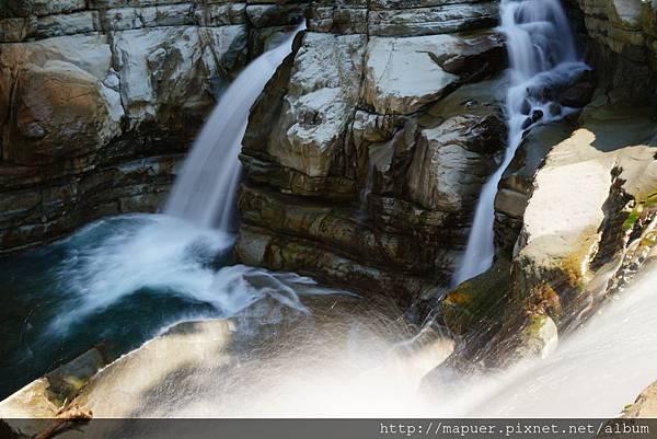苗栗神仙谷瀑布