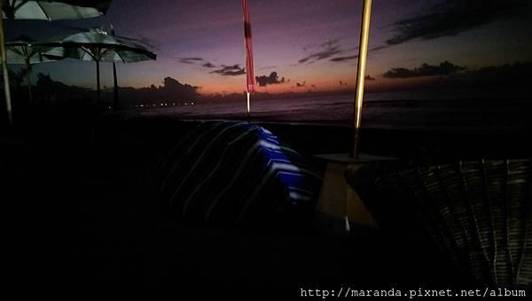 峇里島日出