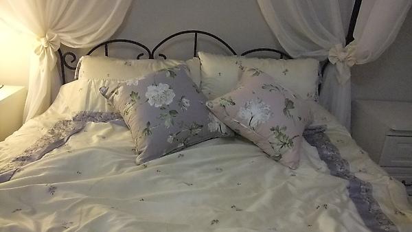 雙色大抱枕(與落地窗是同一系列,不同顏色)