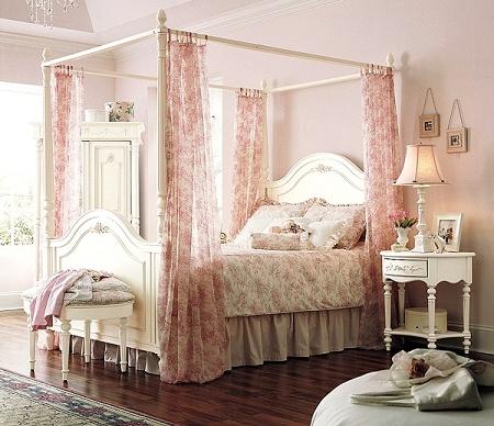 第二款床幔的參考圖─法式古典鄉村風格