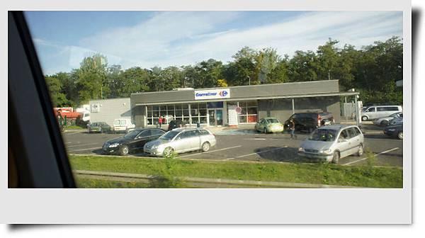 Carrefour的加油站