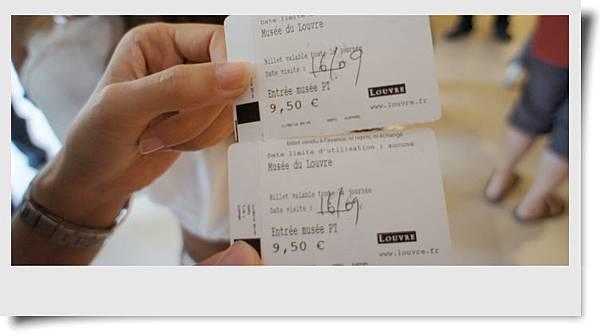 羅浮宮門票