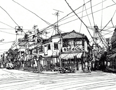 下町風景01