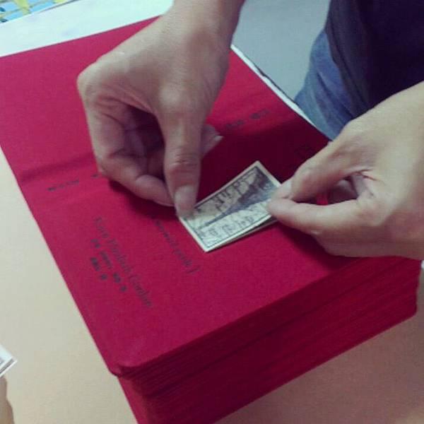 手工細緻紙貼