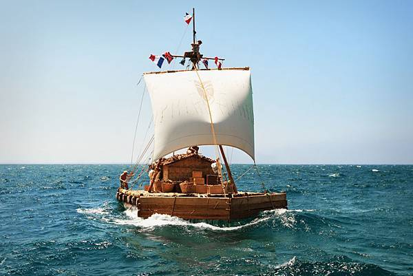 Kon-Tiki Off To Sea, big