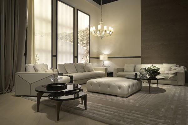 Fendi Versailles sofa (4人位160萬3千元)