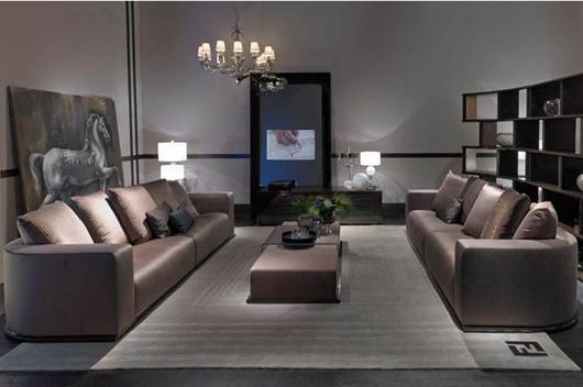 Fendi Memoire Sofa (4人位215萬3千元)