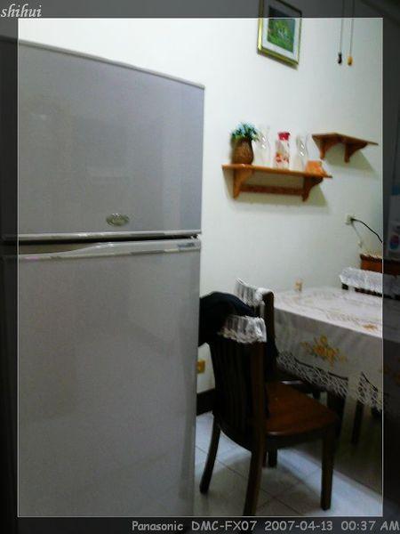 好大的冰箱