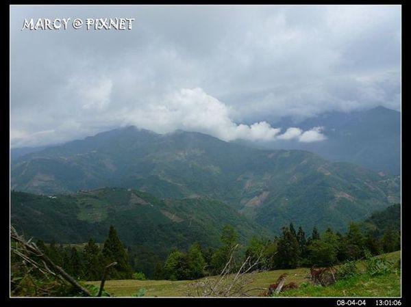 翻山越嶺的風景