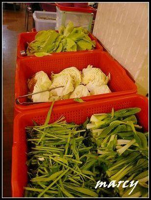 小白菜、高麗菜、青江菜、空心菜