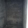 施工中-好小的浴室喔