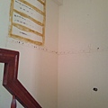 施工前-三樓樓梯間的小儲藏室被拆掉了