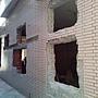 施工中-一樓側牆外觀