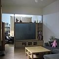 客廳-完工後(電視牆後面是書房)