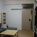 客廳-完工後(從電視牆看過來)