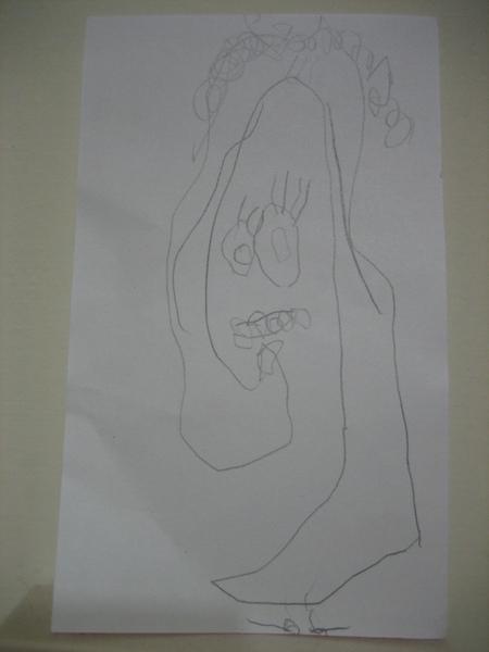 森森畫的媽媽