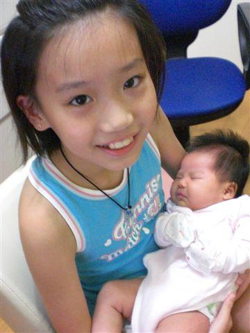 我是阿姨~抱抱紀妹妹