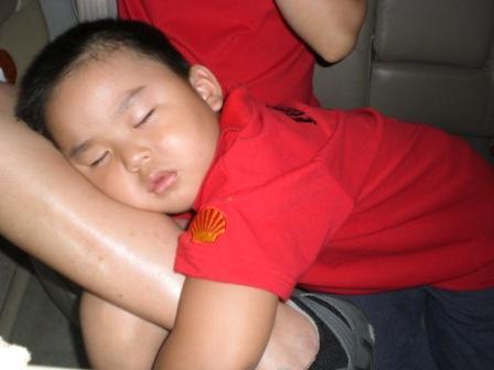 累壞的弟弟