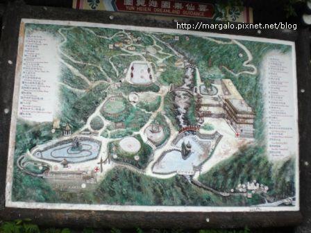 雲仙樂園地圖導覽