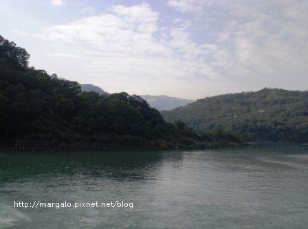 桂山電廠旁的翡翠水庫