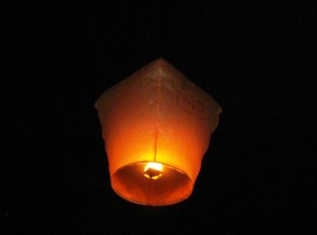 990228關渡廟放天燈