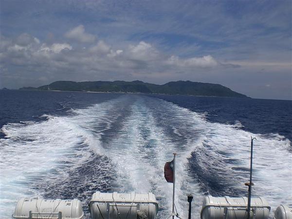 搭乘~港凱旋二號客輪回台東富岡漁港