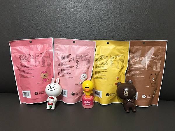 CANDY POPPY - LINE FRIENDS裹糖爆米花6.JPG