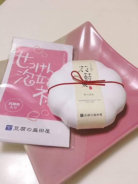 豆腐盛田屋花酵母精萃豆乳潔顏皂1.JPG
