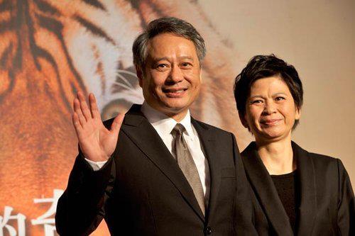 李安與他的太太
