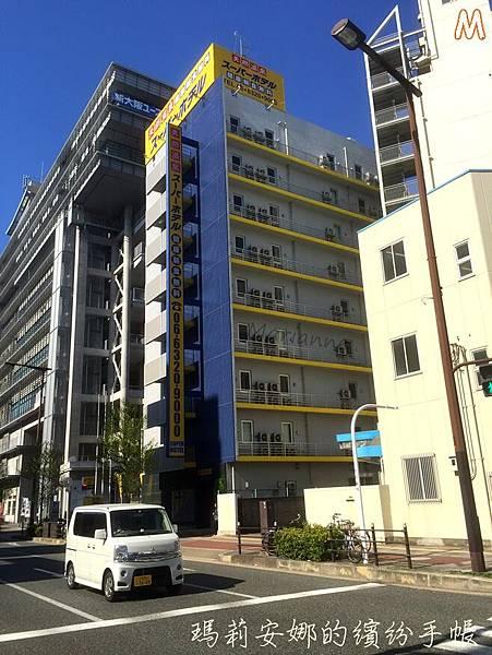Super Hotel ス-パ-ホテル @新大阪東口 (15).JPG
