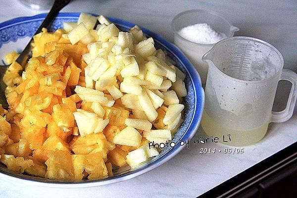 蘋果鳳梨果醬-02