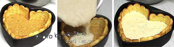 鳳梨乳酪慕斯蛋糕-11
