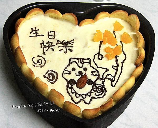 鳳梨乳酪慕斯蛋糕-13