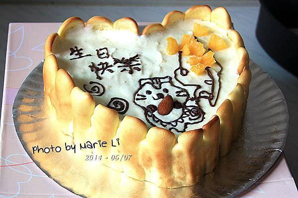 鳳梨乳酪慕斯蛋糕-14