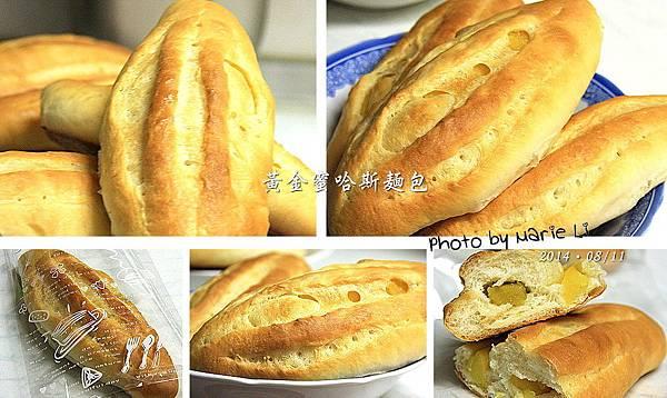 黃金蜜哈斯麵包-11