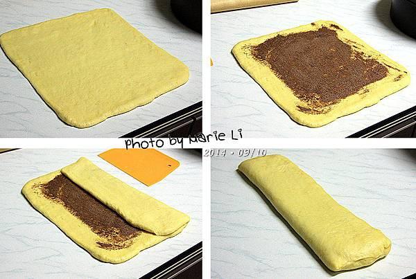 香橙蜂蜜蛋糕麵包-07