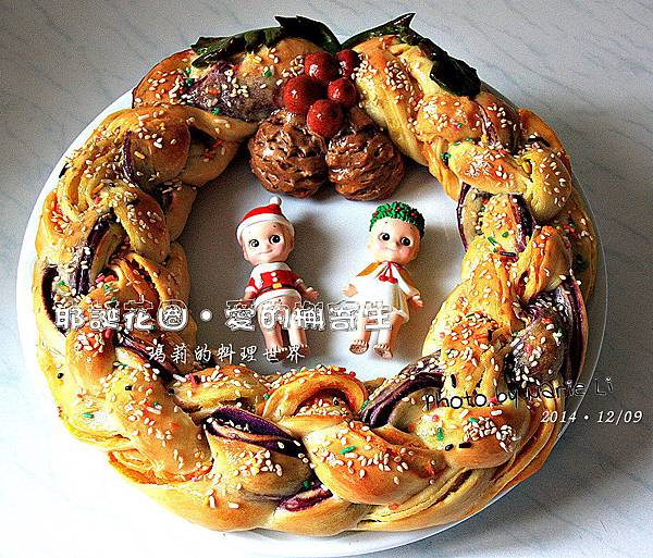 耶誕花圈-12