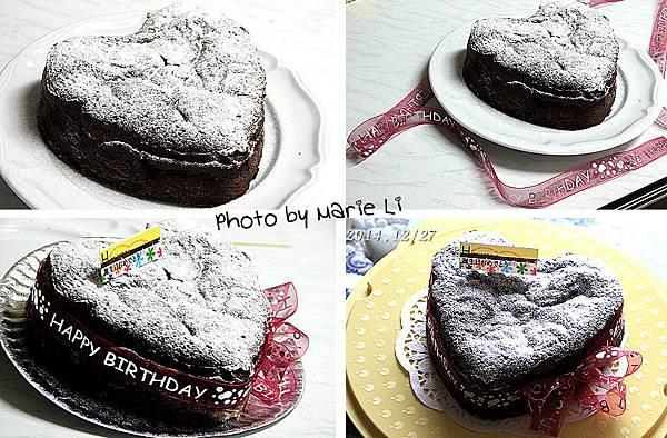 超濃巧克力蛋糕-13
