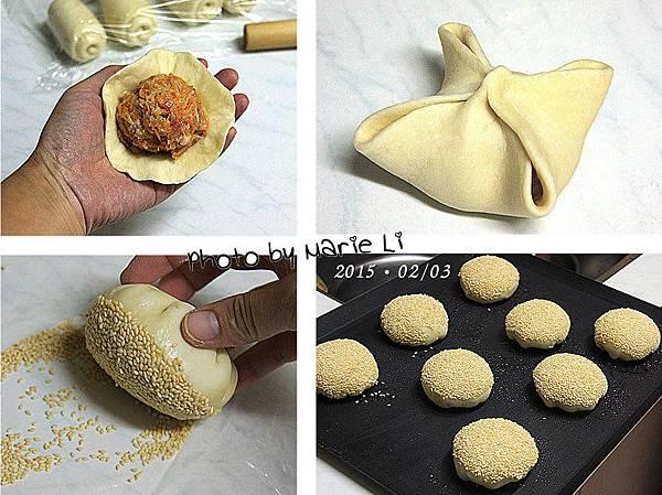 蘿蔔絲肉餡酥餅-11