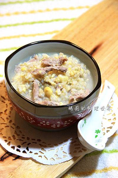 黃豆糙米肉絲粥-04