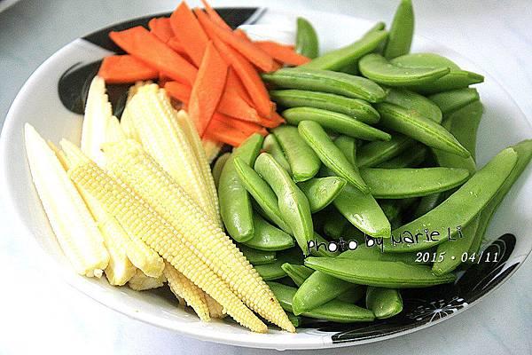清炒甜豆玉米筍-02
