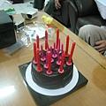 黃湘怡的巧克力蛋糕...