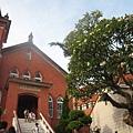 馬偕街的教堂