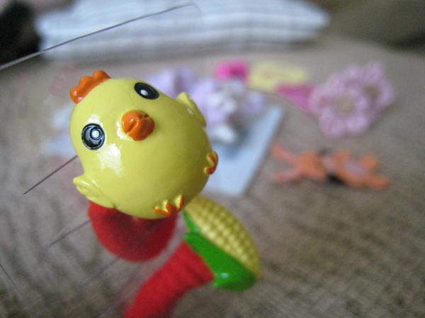 Nana的小雞 & 玉米髮飾