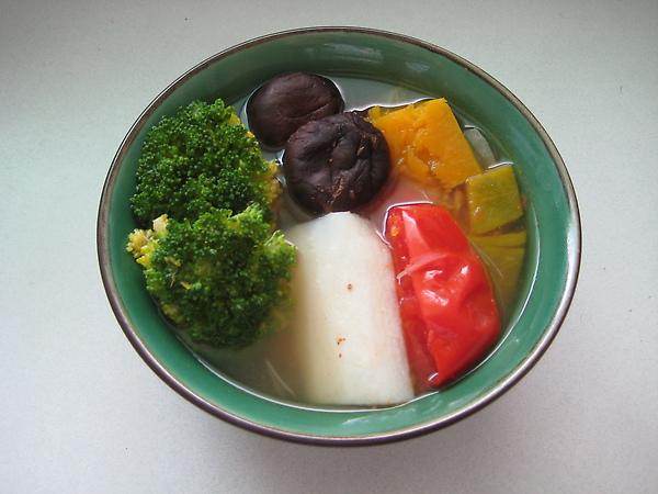 五色蔬菜湯
